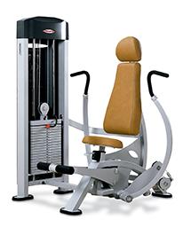 Musculation pectoraux développé assis