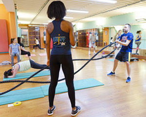 cours fitness circuit training