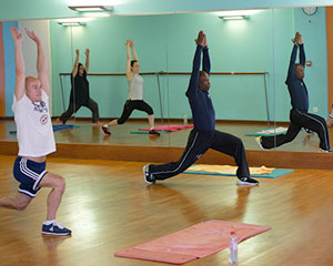Cours fitness de stretching